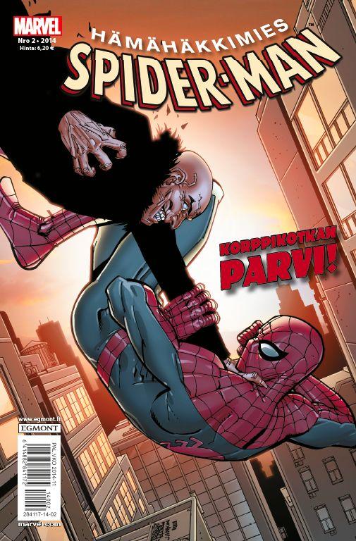 Hämähäkkimies - Spider-Man nro 2/2014. #sarjakuva #sarjakuvalehti #sarjis #egmont #marvel