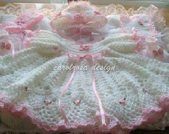 17 Best Ideas About Layette Pattern On Pinterest Crochet