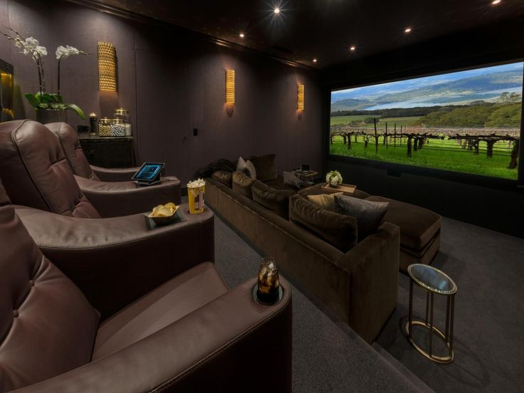 274 Best Images About Home Theater On Pinterest | Media Room