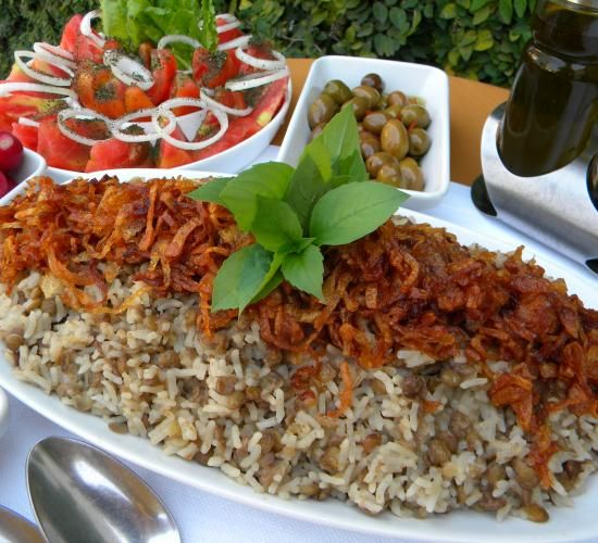 2 middle eastern vegetarian dishes for lent! | Hadia's Lebanese Cuisine