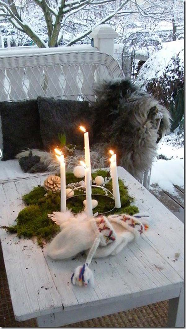 Nordic Style Christmas Decor Inspiration Scandinavian Christmas D