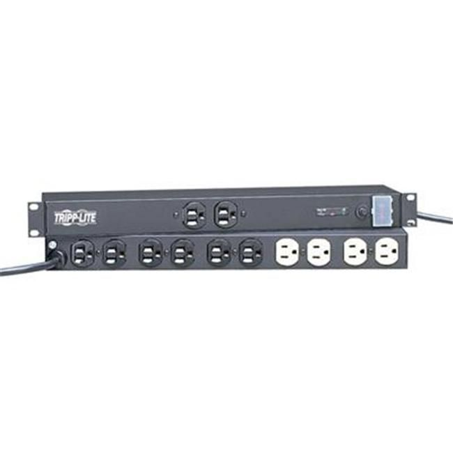 Isobar Ultra 12 Outlet Surge Protector 15 Cord 1280 Joules Rack Mount Black Cool Things To Buy Joules Cord