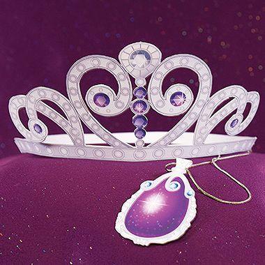 Tiara y amuleto de la Princesa Sofía