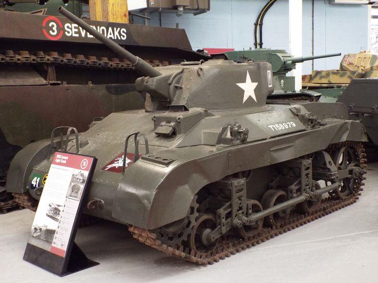 US M22 Locust Light Tank 1943-48 Tank Museum Bovington