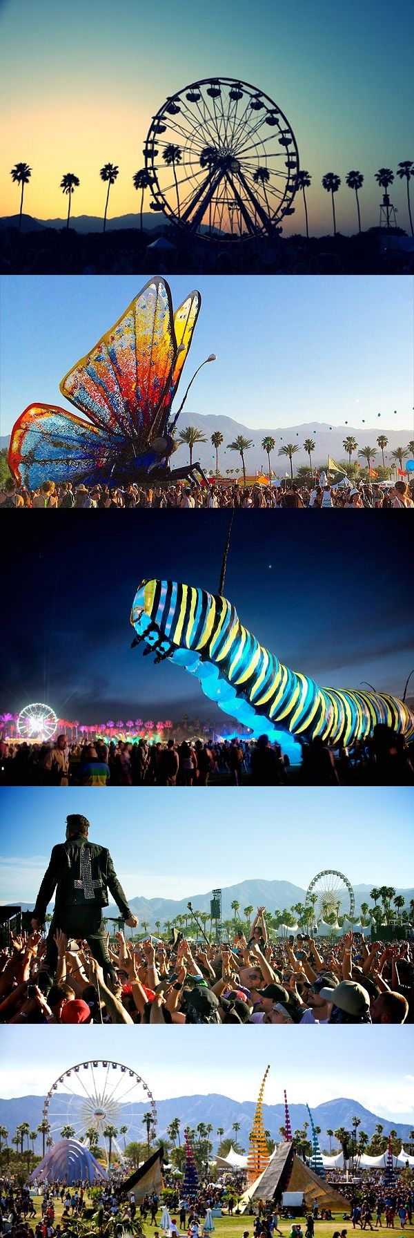 Ir al festival de música Coachella