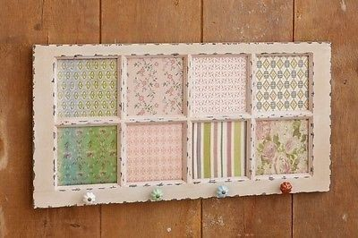 Window Pane With Cork Board Inserts