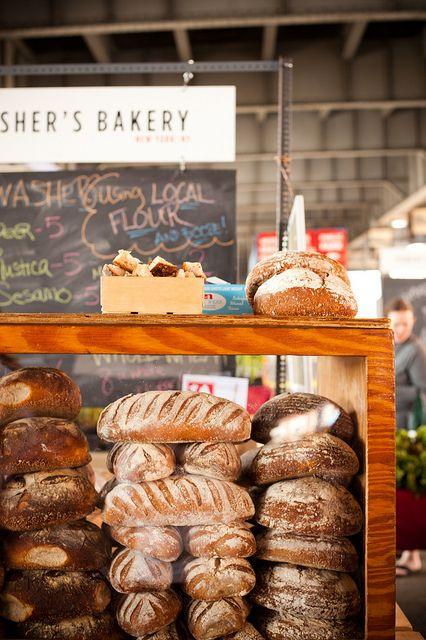 Hmmmm bread! #farmersmarket #bread #bakery