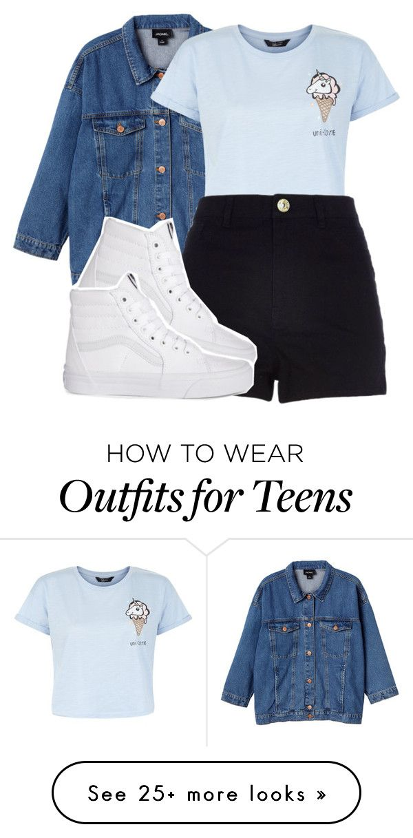 """ice cream cones"" by daejeh on Polyvore featuring Monki, New Look and River Island"
