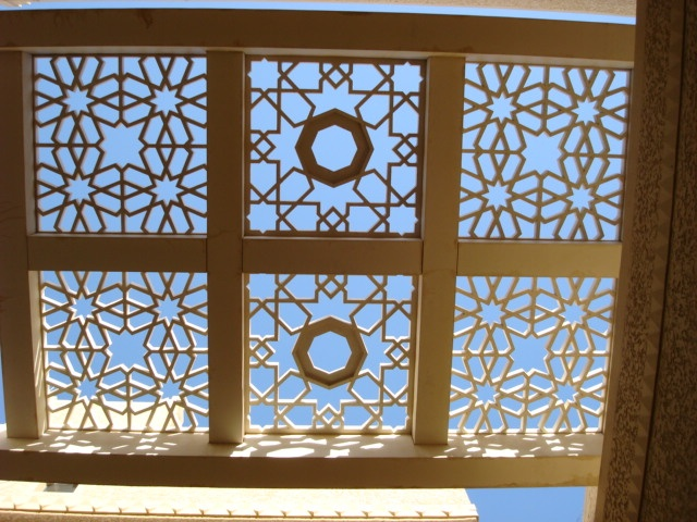 Shopping mall roof in Saudi DQ