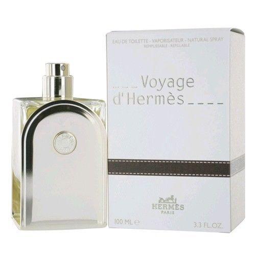 Voyage D'Hermes by Hermes Eau De Toilette Spray Refillable 3.3 oz for Men NIB #HERMES
