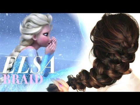 Elsa Frozen Hairstyle Step By Step Hair Tutorial