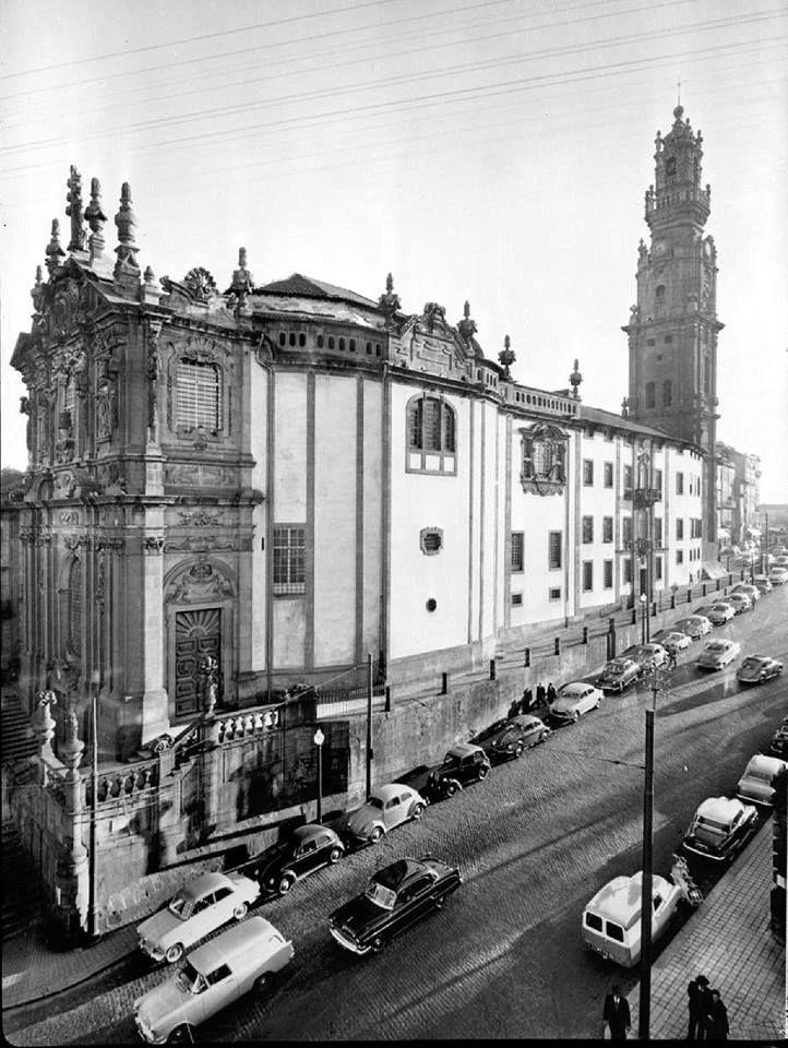 A Igreja e a Torre dos Clérigos, em 1965 // #porto #oporto #vintage #60s #porto60s // webook.pt