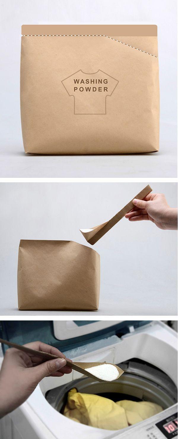 粉末洗剤のパッケージ