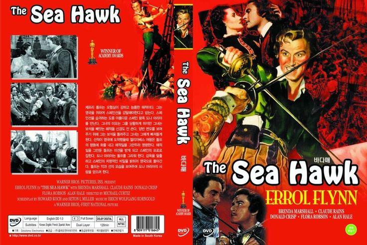 The Sea Hawk,1940 (DVD,All,Sealed,New) Errol Flynn