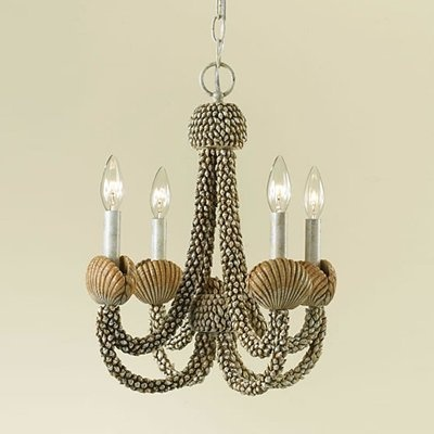 186 best shell art lighting images on pinterest sea shells seashell chandelier gorgeous perfect for a shore house new aloadofball Choice Image