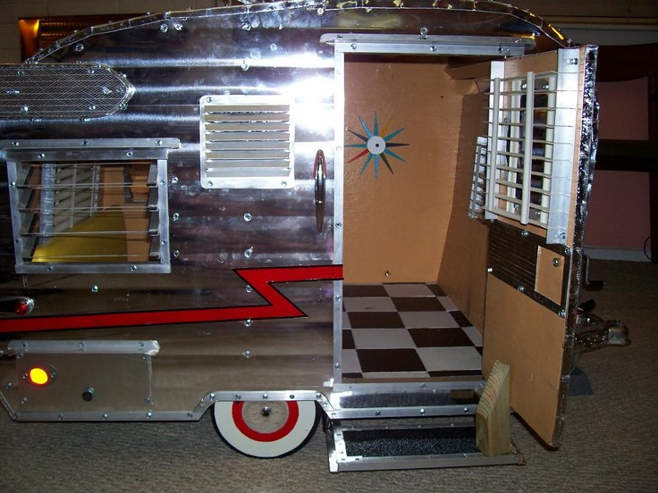 Inside doghouse Travel Trailer | Camping | Pinterest | Vintage trailers and  Camp trailers