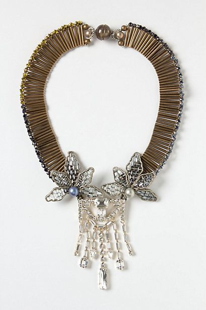 Daybreak Gazania Necklace #anthropologie. Even more gorgeous in real life!