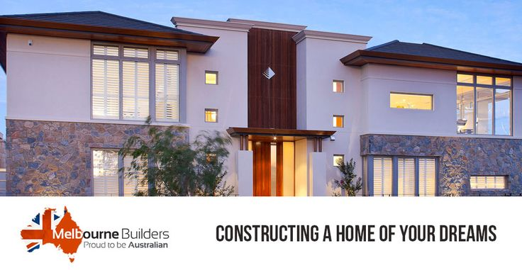Planned to get your dream home built? Start building it with #MelbouneBuilders because our aim to make a house as beautiful as it can be so as to completely satisfy you.