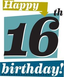 Happy 16th Birthday