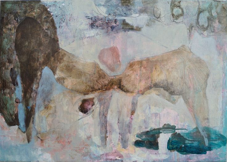 Diletta Boni 2016 - The Shape #2 - Oil on canvas - 50x70cm