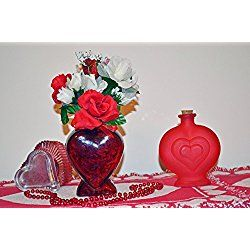 Valentine Day Decor, Heart Floral Arrangement Table Decoration, Sweetheart, Ready to Ship!