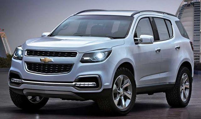 2016 Chevrolet Trailblazer Spotted