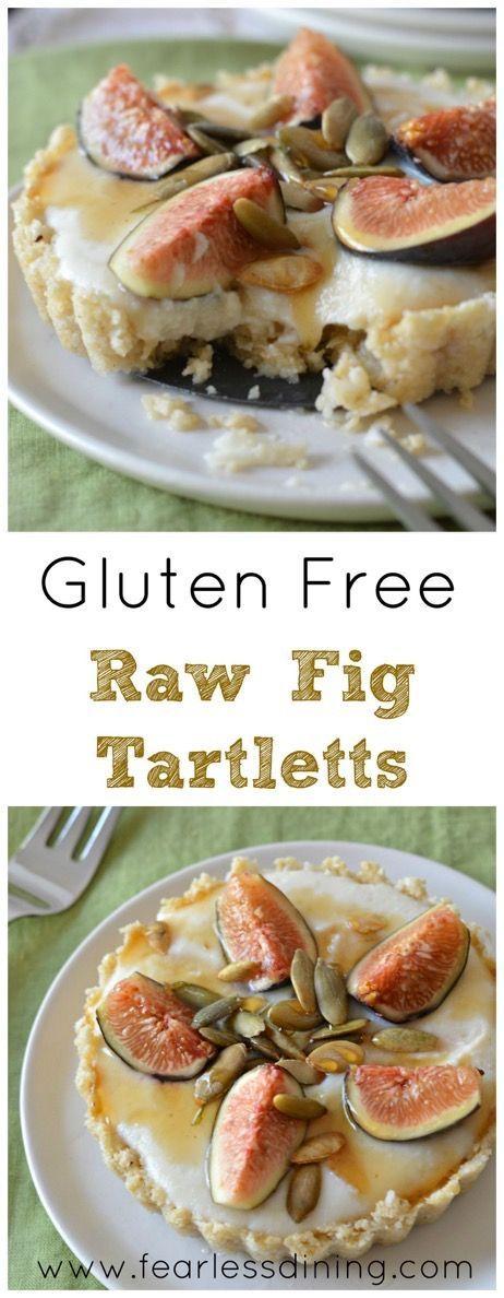 Gluten Free Raw Fig Tarts are a wonderful no bake dessert for any occasion. http://www.fearlessdining.com http://www.fearlessdining.com2015/09/15/gluten-free-raw-fig-tarts/?utm_content=buffer58dba&utm_medium=social&utm_source=pinterest.com&utm_campaign=buffer