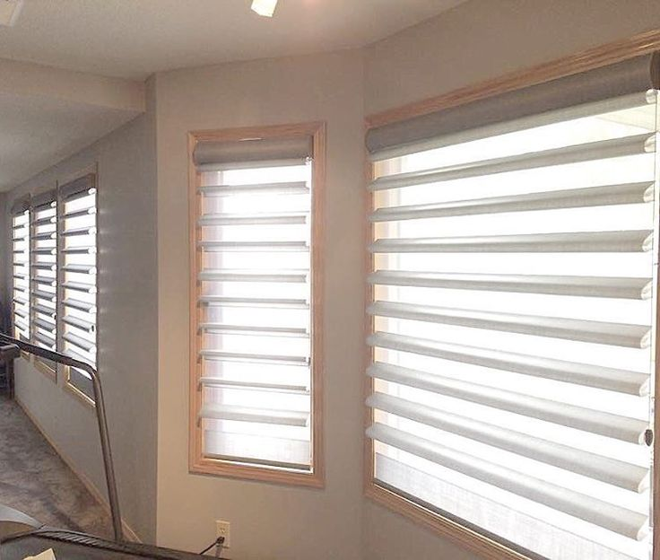 Most Popular Hunter Douglas Shade This Month Has Been Pirouettes. A Popular  Window Covering In