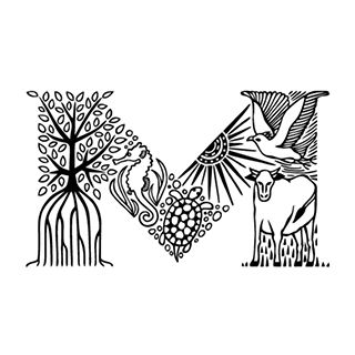 DINING IZAKAYA Mのロゴ:郷土らしさとモダンさと | ロゴストック