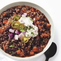 Black bean soup, Poblano chile and Black beans on Pinterest