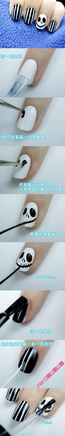 Nightmare before Christmas Nails. THIS HALLOWEEN.