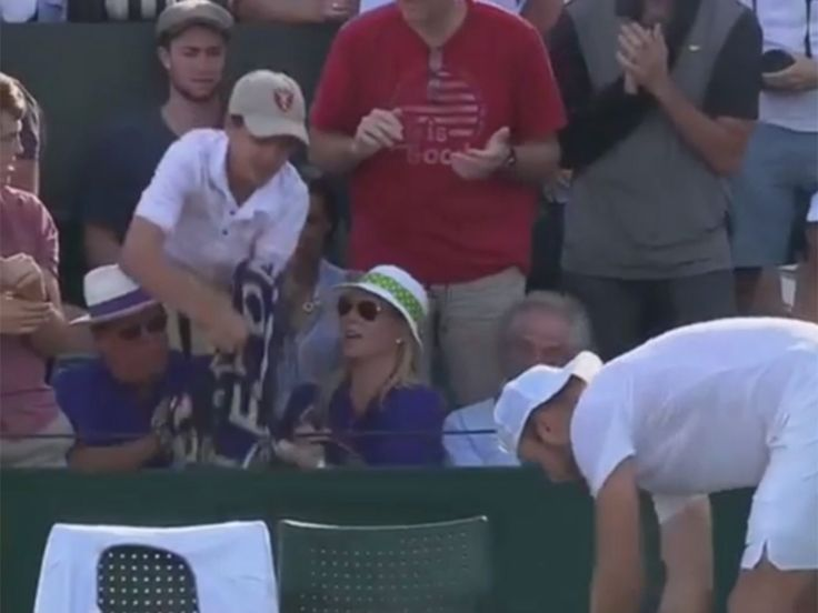 Wimbledon 2017: Jack Sock searching for young fan who had towel ripped out his hands by grown man