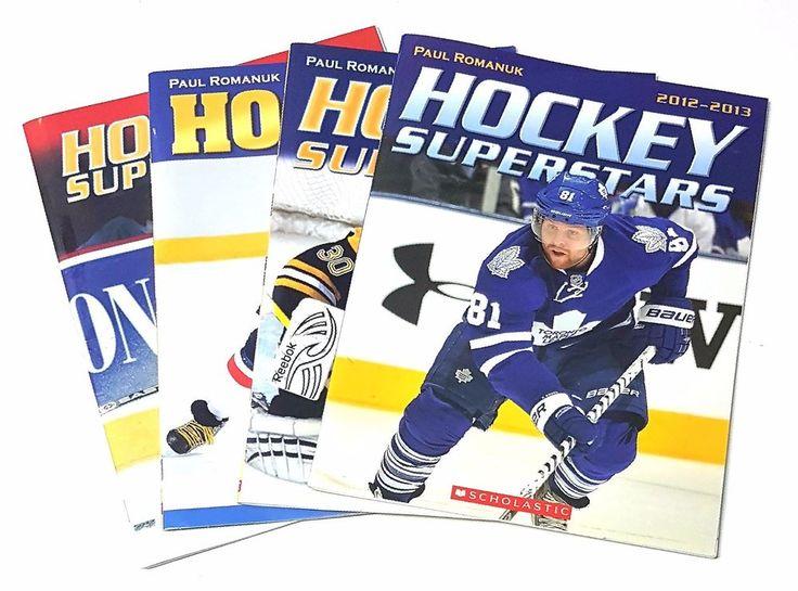 Lot of 4 Scholastic Paul Romanuk Hockey Superstars Magazines    | eBay