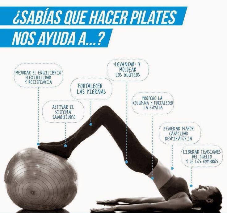 Beneficios de la práctica de Pilates.