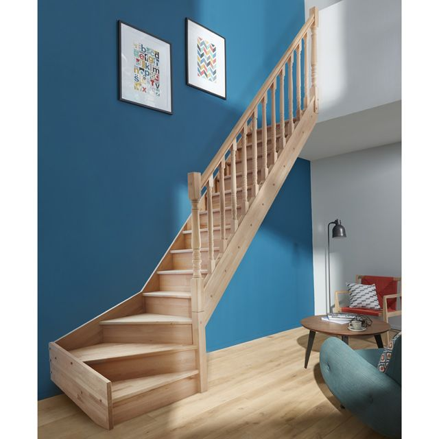 les 25 meilleures id es de la cat gorie escalier 1 4 tournant sur pinterest rampe escalier. Black Bedroom Furniture Sets. Home Design Ideas