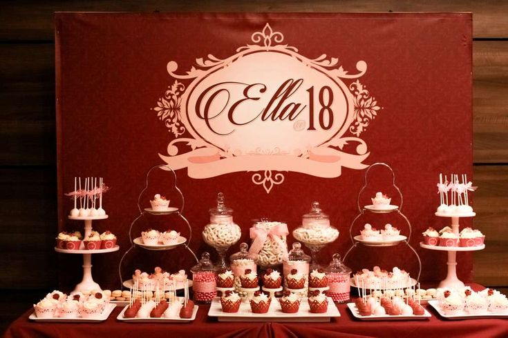 Lovely 18th Victorian birthday party! See more party ideas at CatchMyParty.com!