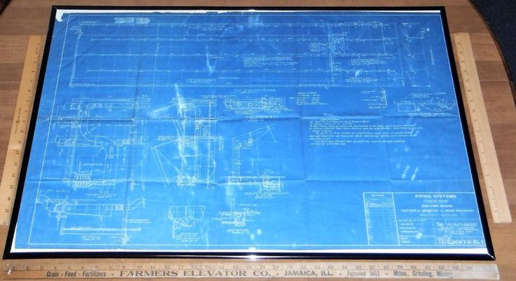 1916 ORIGINAL C&EI RR Chicago And Eastern Illinois Railroad Danville Blueprint