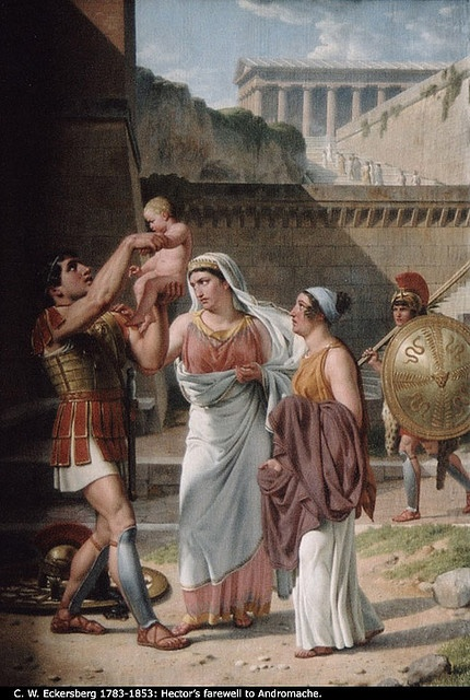 Héctor y Andrómaca: Photos, Art Appreciation, Art Around, Wilhelm Eckersberg, Trojan War