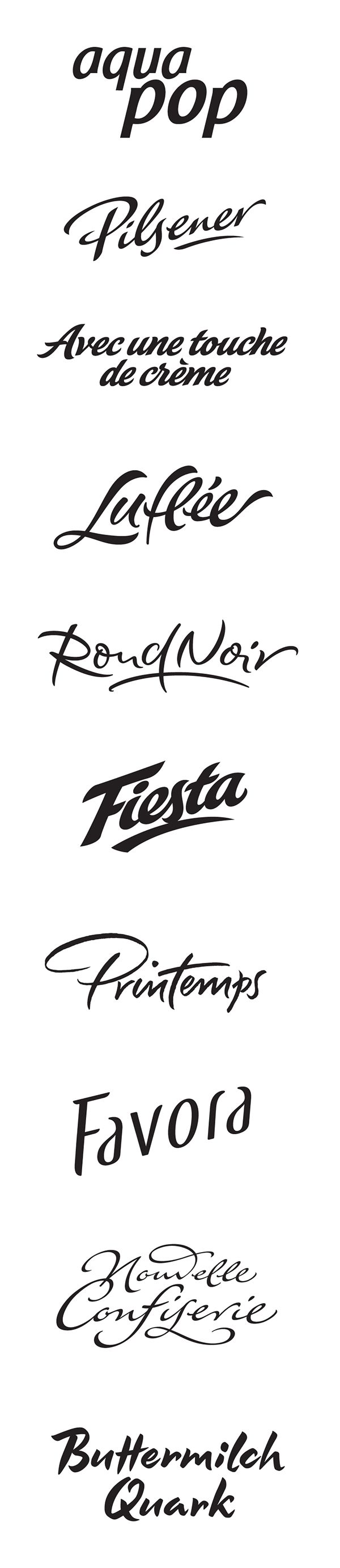 Typeverything.com - Commercial Logotypes by Peter Becker.