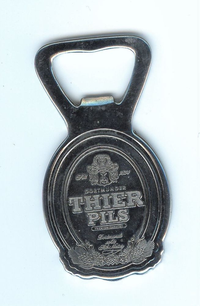 Vintage THIER PILS Advertising Beer Opener Dortmunder