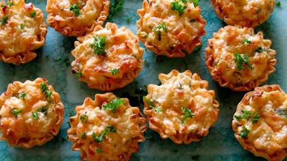 These crab tartlets have long since been a family favorite and are requested often at holiday get togethers.