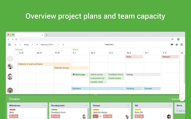 Planyway Team Calendar Timeline For Trello Team Calendar