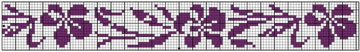 Border 67   Chart for pattern - Gráfico