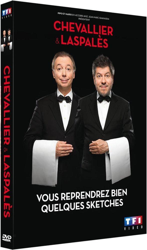 Chevallier et Laspalès - Vous reprendrez bien quelques sketches - DVD NEUF