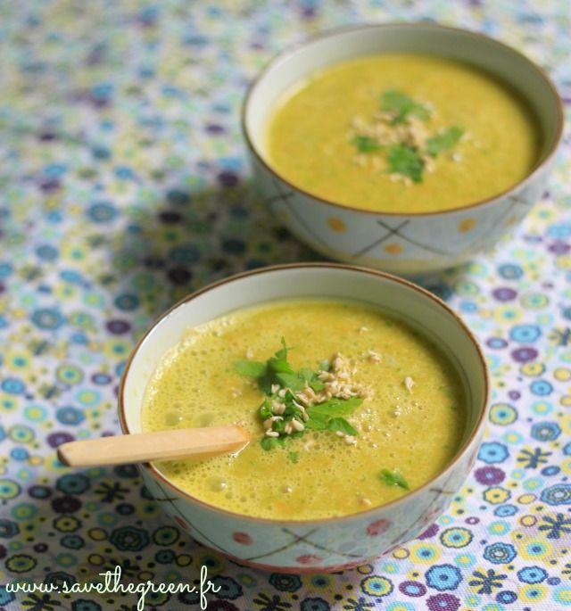 soupe crue carottes oranges gingembre 2 crudivorisme pinterest orange. Black Bedroom Furniture Sets. Home Design Ideas