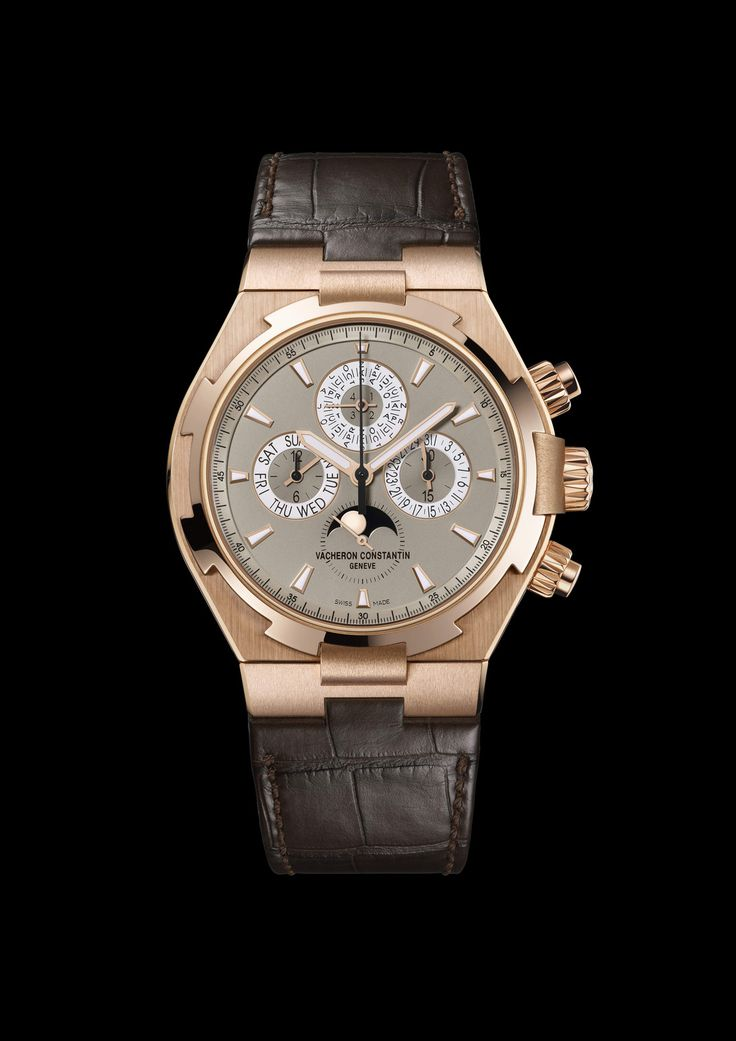 Overseas Chronograph Perpetual Calendar, Vacheron Constantin Timepieces and Luxury Watches on Presentwatch: Luxury Watches, Overseas Collection, Overseas Chronograph, Perpetual Calendar, Vacheron Constantin