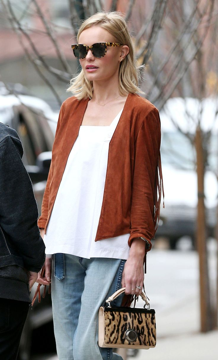 WHO: Kate Bosworth WHERE: On the street, New York City WHEN: April 16, 2015