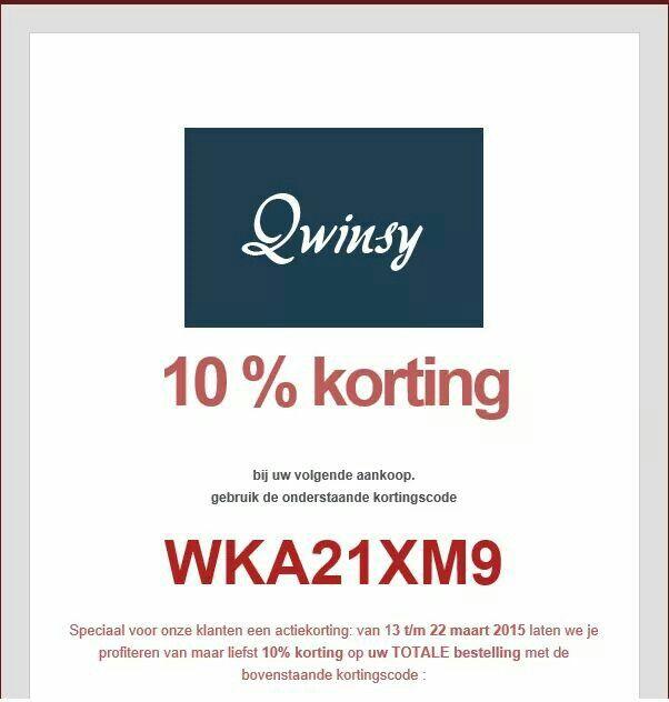 Mis het niet!www.qwinsy.com