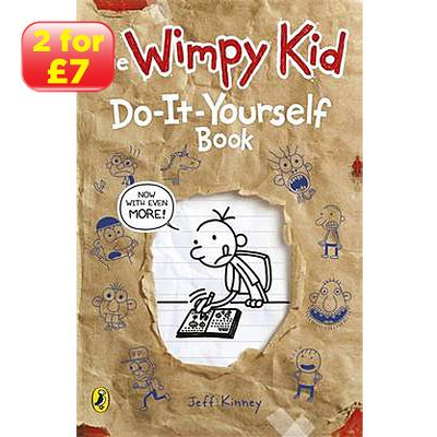 Jeff Kinney - Diary of a Wimpy Kid: Do-it-yourself Book - Paperback