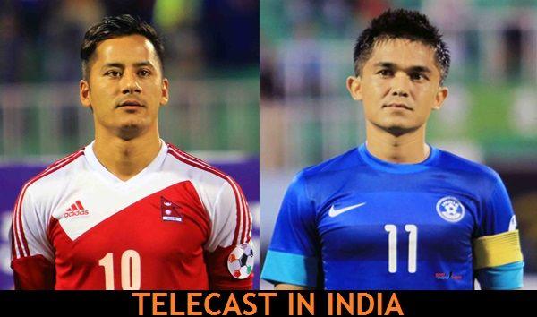 India vs Nepal telecast in India